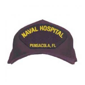Naval Hospital - Pensacola,FL Cap (Dark Navy) (Direct Embroidered)