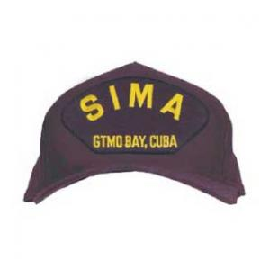 SIMA Gtmo Bay, Cuba Cap with Letters Only (Dark Navy) (Direct Embroidered)