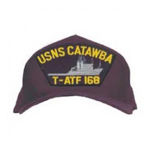 USNS Catawba T-ATF 168 Cap (Dark Navy) (Direct Embroidered)
