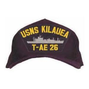 USNS Kilauea T-AE 26 Cap (Dark Navy) (Direct Embroidered)