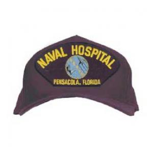 Naval Hospital - Pensacola, FL Cap with Emblem (Dark Navy)