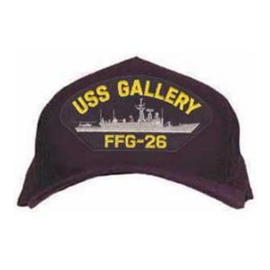 USS Gallery FFG-26 Cap (Dark Navy) (Direct Embroidered)