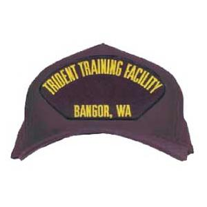 Trident Training Facility - Bangor, WA Cap (Dark Navy) (Direct Embroidered)