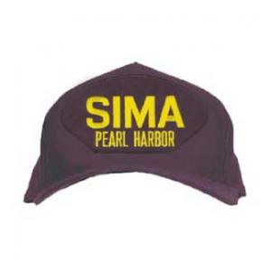 SIMA - Pearl Harbor Cap (Dark Navy) (Direct Embroidered)