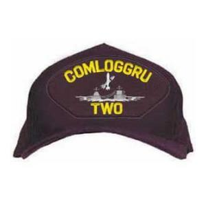 COMLOGGRU Two Cap with Logo (Dark Navy)
