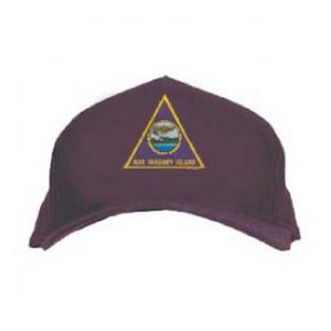 Cap with Whidbey Island Triangle Patch (Dark Navy)