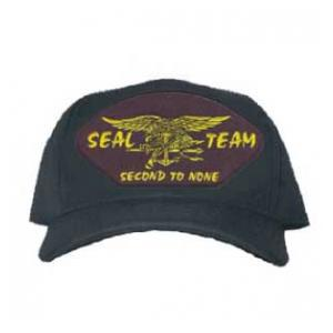 Seal Team Second To None Cap with Logo (Dark Navy)