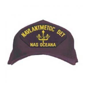 NAVLANTMETOC DET - Nas Oceana Cap with Logo (Dark Navy)