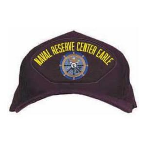 Naval Reserve Center Earle Cap with Emblem (Dark Navy)