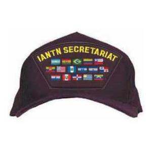 IANTN SECRETARIAT Cap with Flags (Dark Navy)