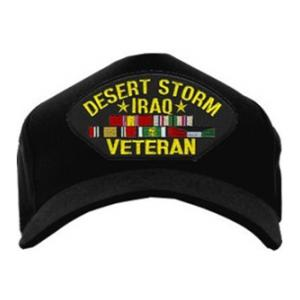 Operation Desert Storm Iraq Veteran Cap (Black)