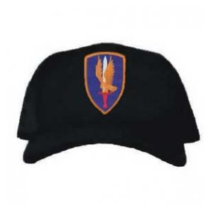 Cap with 1st Aviation Brigade Patch (Black)