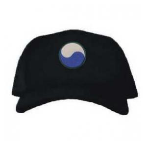 Cap with 29th Infantry Division Patch (Black)