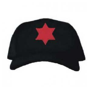 Cap with 6th Infantry Division Patch (Black)