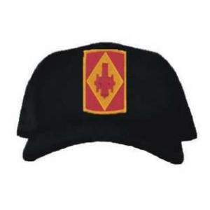 Cap with 75th Field Artillery Brigade Patch (Black)