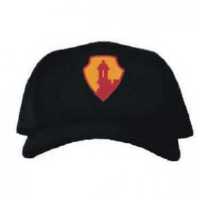 Cap with Garrison Antilles Command Patch (Black)