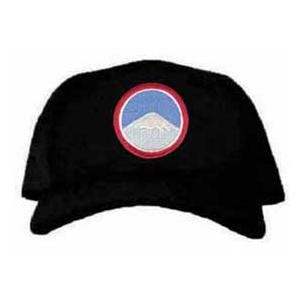 Cap with Far East Ground Unit Patch (Black)