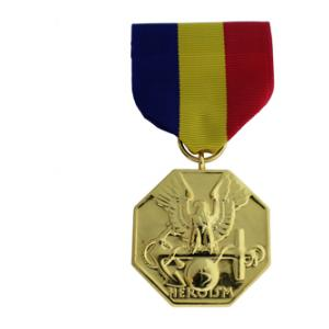 Navy & Marine Corps Anodized Medal (Full Size)