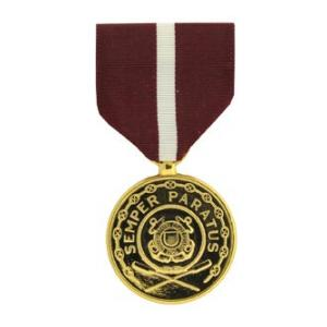 Coast Guard Good Conduct Anodized Medal (Full Size)