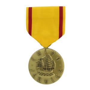 China Service Medal (Full Size)