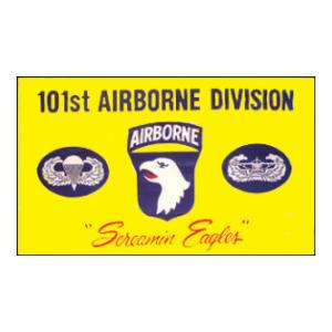 101st  Airborne Division Flag (Screaming Eagles) (3' x 5')