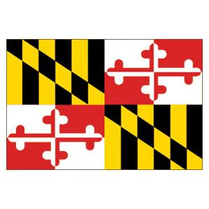 Maryland State Flag (3' x 5')