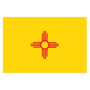 New Mexico State Flag (3' x 5')