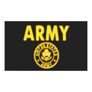 US Army Flag (Black and Yellow) (3' x 5')