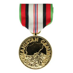 Afghanistan Campaign Anodized Medal (Full Size)