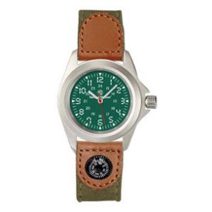 Smith & Wesson® Camper's Watch with Compass (Olive Drab)