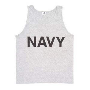 Youth Navy Tank Top (Grey)