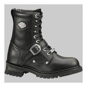 "Harley-Davidson 8"" Faded Glory Boot (Black ST)"