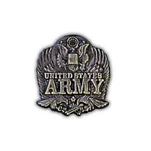 Army Pin with Falcons