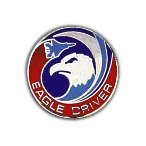 Air Force Eagle Driver Pin