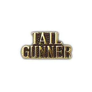 Air Force Scripted Tail Gunner Pin