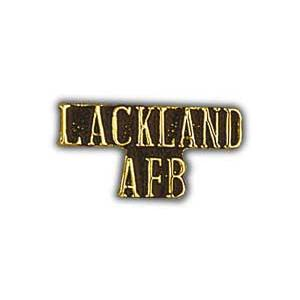 Air Force Scripted Lackland AFB Pin
