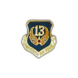 Thirteenth Air Force Pin