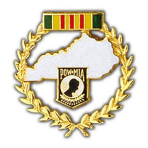 POW * MIA Kentucky Pin