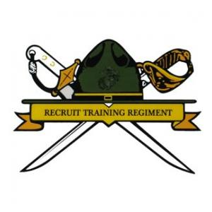 Marine Recruit Training Regiment Outside Window Decal
