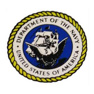 Department Of The Navy Inside Window Decal