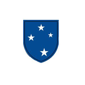 23rd Infantry (Americal) Division Inside Window Decal