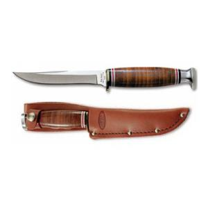 KA-Bar Leather Handled Little Finn