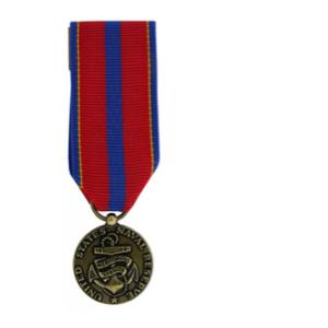 Naval Reserve Meritorious Service Medal (Miniature Size)