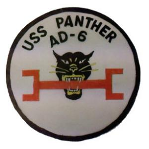 USS Panther AD-6 Patch