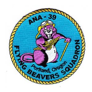 Flying Beavers Squad ANA-39 Patch