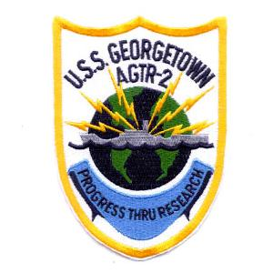 USS Georgetown AGTR-2 Ship Patch