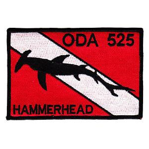 Special Forces ODA-525 Hammerhead Patch