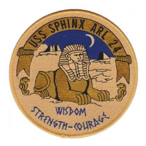 USS Sphinx ARL-24 Patch