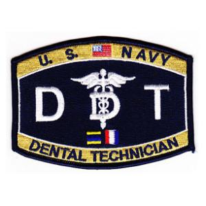 USN RATE DT Dental Technician Patch