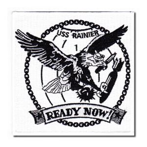 USS Rainier AE-5B Ship Patch
